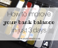 Improve your bank balance in just 3 days