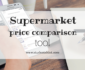 UK supermarket price comparison tool